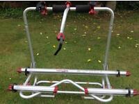 Fiamma bicycle carrier for caravan