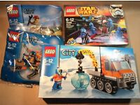 Collection of unopened Lego sets, Arctic and Star Wars