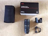 SIGMA .70-200f 2.8...Canon Fit..