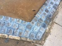 75 reclaimed granite setts. c. 5inchx5inchx5inch. Good condition.