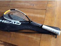 Almost new men's squash racquet.