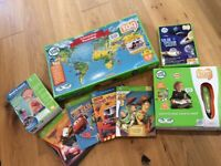 Leap Frog Tag Reading Pen and lots of extras
