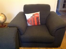 Free 3 Seater Sofa & Matching Chair