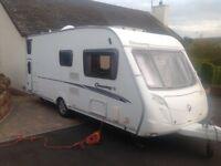 2007 Swift Oronsay 6 berth touring caravan