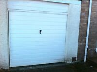 Garage Door in Good and Full working order. Up and Over Canopy (Cardale Make)