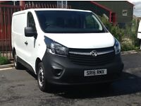2016 VAUXHALL VIVARO 1.6 L1 H1 WITH 14000 MILES ONLY. AS NEW THROUGHOUT AND NO VAT. NO VAT. NO VAT.