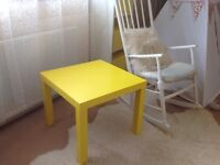 Ikea yellow coffee/ side/kids table