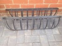 2 x garden wall hanging troughs / planters. Collection only from Crowland PE6.
