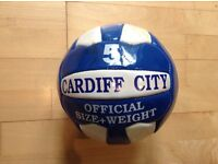 Signed Cardiff City ball