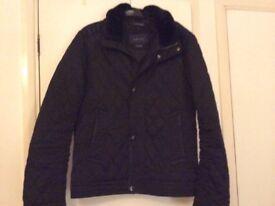 Zara for men black jacket