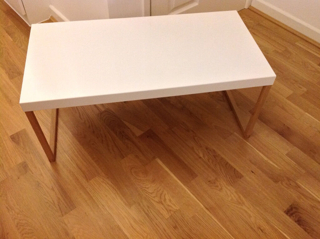 habitat kilo white metal coffee table | in bournemouth, dorset