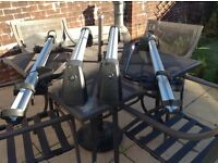 Mercedes A class roof bars with bike racks - hardly used excellent condition