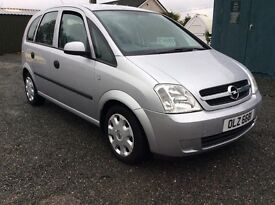 2005 Vauxhall Opel Meriva 1.6 with mot march 2018 great condition for age cookstown