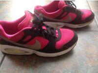 Ladies girls Nike Air Max size 5.5