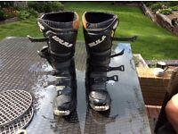 Wulf libre motocross boots