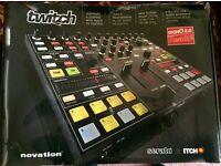 Novation Twitch mixing Deck NEW Unused