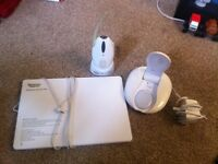 Tommee Tippee baby monitor with sensor pad and moveable listener