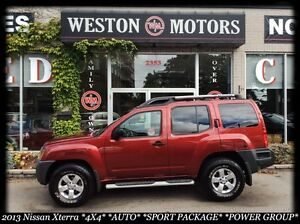 2013 Nissan Xterra 4X4* AUTO* PWR GROUP* SPORT PKG* NEW TIRES