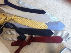 Set of 8 suit ties (5 brand new)