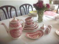 Masons vintage tea shop china