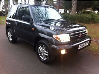 MITSUBISHI SHOGUN PININ EQUIPPE MPI EDITION 1.8 AUTOMATIC, LOW MILES, LEATHER, FULLY LOADED, BARGAIN