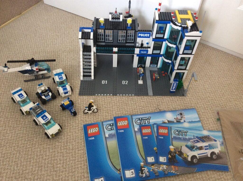 Lego City 7498 Police Station Instructions All Minifgures Extra