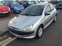 2005 05 peugeot 206 s 5 dr 1360 cc NEW IN . frenchay park motors BS161HD