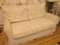Cream Ikea Ektorp sofa