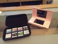 Nintendo DS and 8 Games (Bundle)