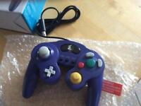 ZedLabz wired controller for Nintendo GameCube - compatible vibration gamepad joypad turbo