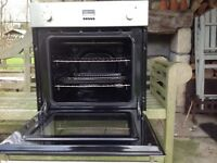 Integrated fan electric oven, good condition and full working order
