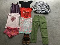 Girls bundle clothes 6-7 & 7-8 years