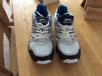 Slazenger sport trainers with studs ex.con.£5 size 7
