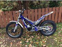Sherco 125 trials bike 2015