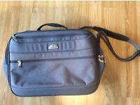 Samsonite blue fabric cabin bag