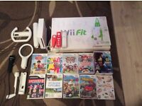 Wii , Wii fit , accessories and games. Pristine condition