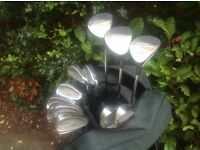 GOLF CLUBS .MEMPHIS COMPLETE SET