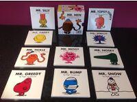 Box Set of 10 Mr Men Books - Excellent Condition