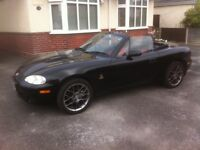 2004 Mazda MX5 1.8 Euphonic. MOT. Currently SORN low mileage for year hardtop included.