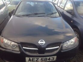 2004 NISSAN ALMERA S 1.5 PETROL BREAKING FOR PARTS ONLY POSTAGE AVAILABLE NATIONWIDE
