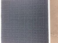 Carpet Tiles Mid Grey Heavy Duty Used