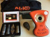 Alko Al-ko Caravan Wheel Lock No 29 - Superb Condition