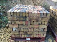 Pallets of reclaimed bricks £200 per pallet