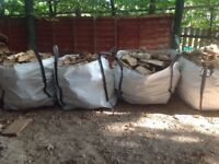 logs for sale assorted woods well seasoned