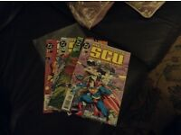 DC Comics Special Crimes Unit issues 1-4