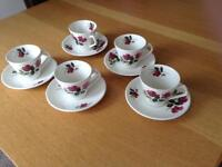 Lord Nelson Pottery Cups & Saucers