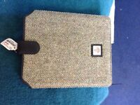 Real Harris tweed I pad case .and wallet