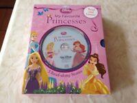 Disney's My Favourite Princess 5 book + CD Set