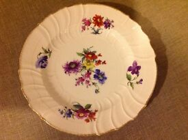 "Very pretty old ""flower"" plate"