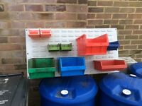 Workshop/ shed storage boxes